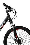 Велосипед горный алюминий Crosser Nio Stels 24*12,5, фото 5
