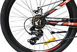 Велосипед горный алюминий Crosser Nio Stels 24*12,5, фото 4