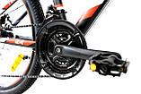 Велосипед горный алюминий Crosser Nio Stels 24*12,5, фото 3