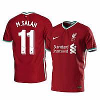 Футбольная форма ФК Ливерпуль Салах (FC Liverpool M. SALAH) 2020-2021 Домашняя детская