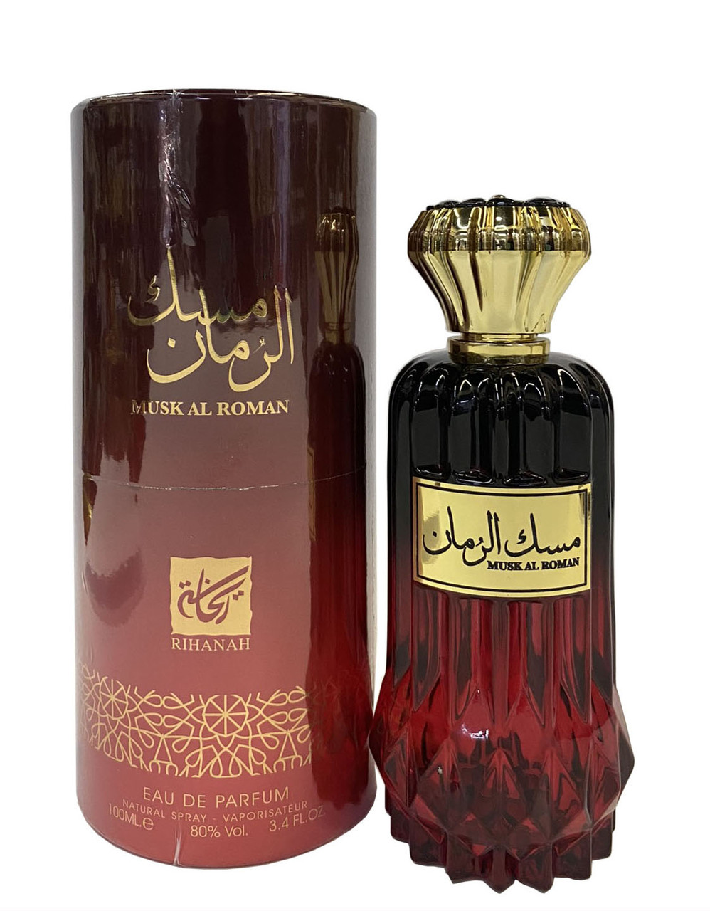 Парфюмированная вода для женщин Rihanah Musk Al Roman 100 мл