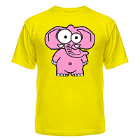 Футболка Розовый слон