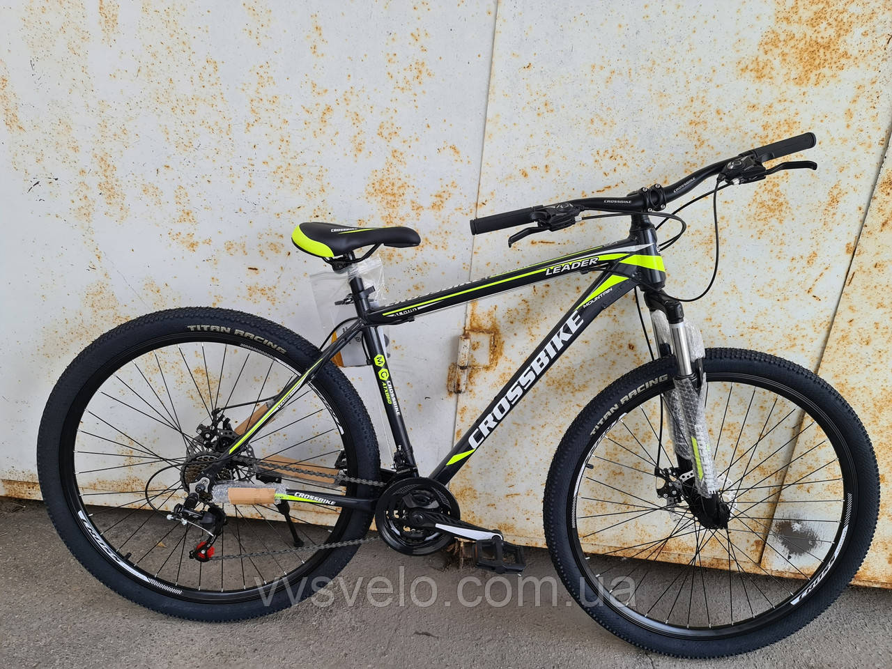 Велосипед  crossbike leader 29 new 2020 3 цвета
