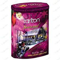 Чай Тарлтон черный Тихая Ночь  200 гр(музыкальная шкатулка)