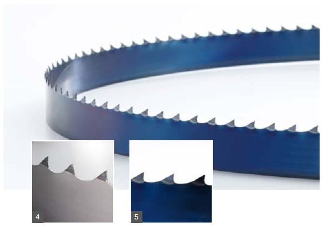Столярное ленточное пильное полотно по дереву Wintersteiger (Германия) 1712*10*0,6*4TPI flex-back