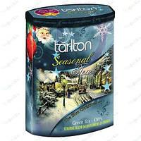 Чай Тарлтон зеленый Сияющее Рождество 200 гр(музыкальная шкатулка)