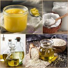 Масла пищевые, массажные, косметические, лечебные