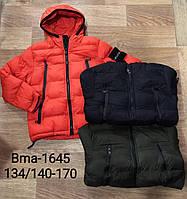 Куртка утеплена для хлопчиків Glo-Story, 134/140-170 рр. Артикул: BMA1645, фото 1