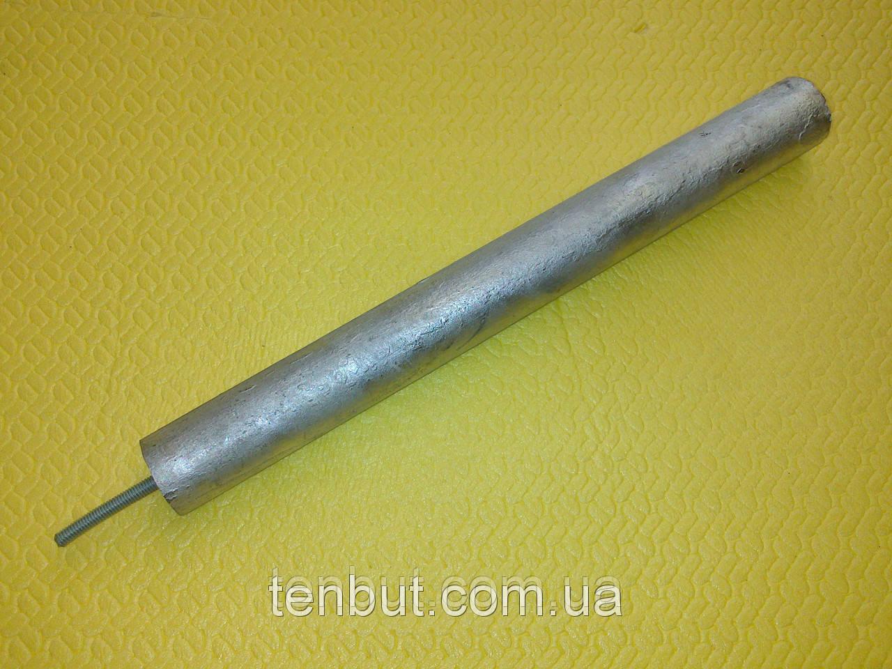 Магниевый анод м-5 / Ø-24 / L-200 мм. /  Шпилька L-10 мм. Производитель KAWAI