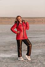 """Стеганый женский зимний костюм """"MOUNT"""" с капюшоном (большие размеры), фото 3"""