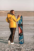 """Стеганый женский зимний костюм """"MOUNT"""" с капюшоном (большие размеры), фото 2"""