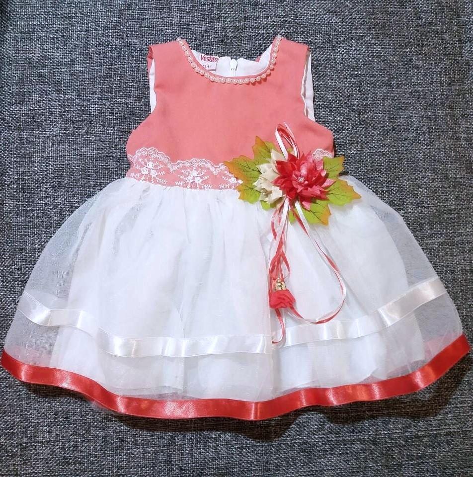 НЕДОРОГО пишне нарядне плаття на дівчинку р. 2 (на рік, на 2 роки ріст 86, 92, 98))