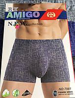 "Мужские Боксеры масло Марка ""Amigo""  Арт.7981"