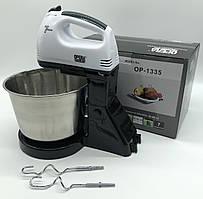 Ручной миксер с чашей OPERA  Hand mixer OP-1335 (12шт)