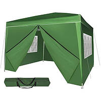 Садовый павильон шатер палатка 3х3 м (тент шатер намет садовий 3 на 3 м)
