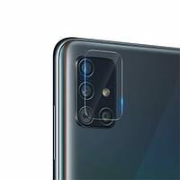 Защитное стекло на камеру Fiji Elite для Samsung Galaxy A51 (A515)