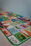 """Дитячий розвиваючий термо килимок скручивающийся """"Футбол+Англійські літери"""" 1800*1200*5мм OS-BCM-0.5, фото 6"""