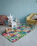 """Дитячий розвиваючий термо килимок скручивающийся """"Футбол+Англійські літери"""" 1800*1200*5мм OS-BCM-0.5, фото 3"""