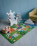 """Дитячий розвиваючий термо килимок скручивающийся """"Футбол+Англійські літери"""" 1800*1200*5мм OS-BCM-0.5, фото 5"""
