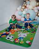 """Дитячий розвиваючий термо килимок скручивающийся """"Футбол+Англійські літери"""" 1800*1200*5мм OS-BCM-0.5, фото 7"""