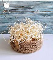 Наповнювач для коробок. Солома декоративна деревна для оформлення подарунків та декору (200 грам) Сосна
