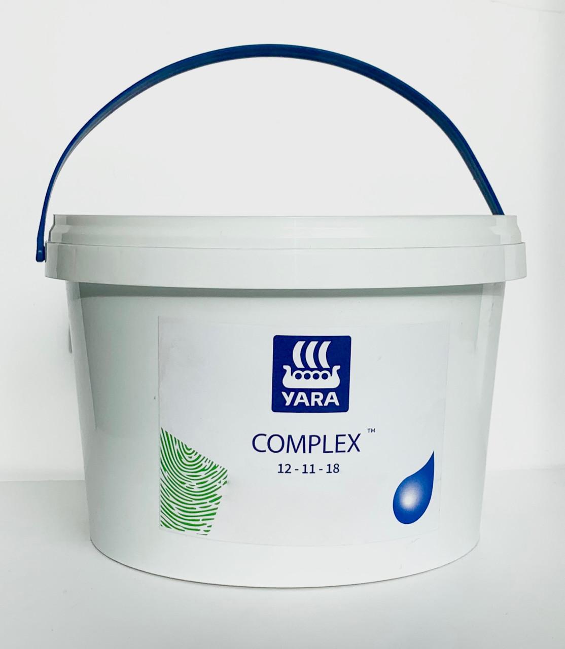 Универсальное комплексное минеральное удобрение Яра Мила Комплекс, Yara Mila COMPLEX NPK 12-11-18 (2,5 кг)