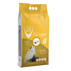 Наповнювач Van Cat Ван Кет  бентонітовий з ароматом ванілі 5 кг