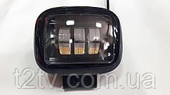 Фары LED дальний свет WL-F1B SP HQ 30W 10-60V/3LEDx10W черные