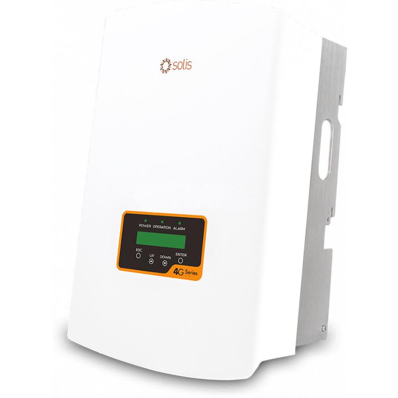 Сетевой Солнечный Инвертор 10кВт Solis 3P10K-4G-DC