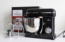 Кухонний комбайн Crownberg Тістоміс 2200 вт чорний