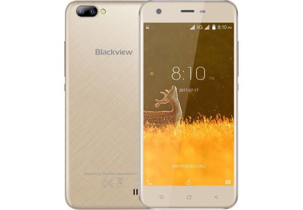 Смартфон Blackview A7 Gold Stock А-