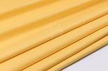 Поплин однотонный, цвет жёлтый (№3054), фото 3