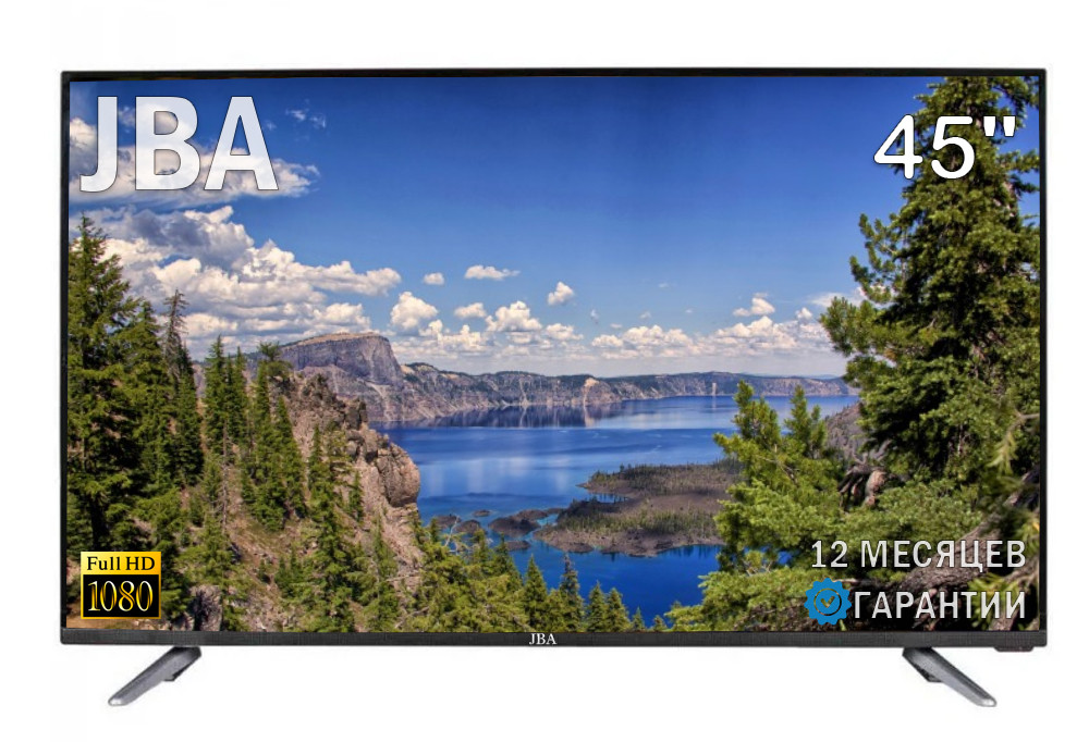 "Телевизор JBA 45"" Smart-Tv Android 7.0 FullHD/DVB-T2/USB"