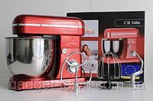 Кухонний комбайн Crownberg Тістоміс 2200 вт червоний