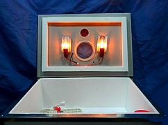 Инкубатор бытовой Наседка, на 70 яиц, ручной, аналоговый, края усилены металлом