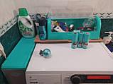 Узкий шкаф в ванную, комод пластиковый, фото 7