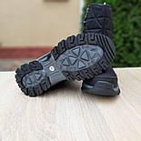 Женские зимние сапоги дутики Columbia с мехом черные с серым 36-41рр. Живое фото, фото 9
