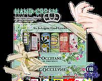 Подарочный набор кремов для рук Loccitane en provence Six Indulgent Hand Cream