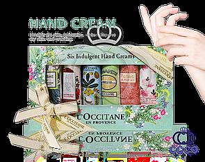 Подарунковий набір кремів для рук Loccitane en provence Six Indulgent Hand Cream