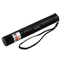 Фонарь-лазер  зеленый 303, ЗУ 220V, 1x18650, Box, фото 1