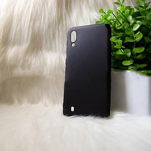 """Силіконовий чохол Samsung M10 2019 """"Cool Black Чорний (black)"""