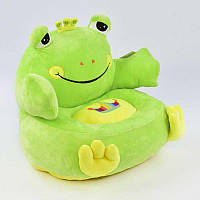 Мягкое кресло Лягушка, детское, 40х40х40 см