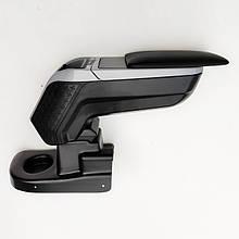 Підлокітник armcik s4 з зсувною кришкою і регульованим нахилом для Renault Zoe 2012-2020
