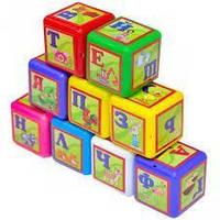 МЕГА!великі дитячі кубики Абетка (укр.мова),кубики 020/1, фото 1