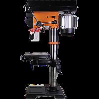 Свердлильний верстат з безступінчатим регулюванням WorkMan DP12VL, вертикально свердлильний верстат з