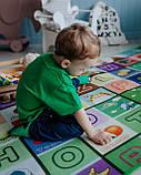 "Детский развивающий термо коврик скручивающийся 1800*2000*5мм ""Футбол+Английские буквы"", фото 8"