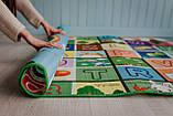 "Детский развивающий термо коврик скручивающийся 1800*2000*5мм ""Футбол+Английские буквы"", фото 9"