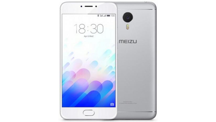 Смартфон Meizu M3 Note 16 Gb Silver Stock B