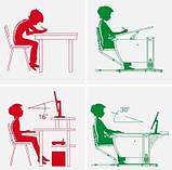 Детская универсальная парта Дэми  СУТ 14 (клён/оранжевый)+стульчик СУТ-01, фото 4