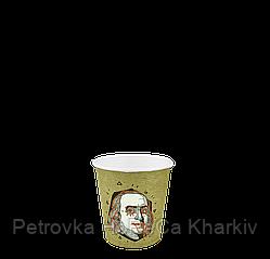 """Одноразовий стакан, серія """"ФРАНКЛІН"""", 110мл. 50шт/уп (1ящ/48уп/2400шт) (FiB63)"""